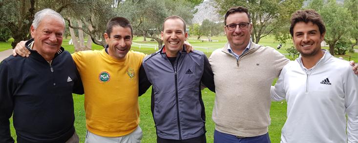 Sergio García se vuelca con el Seve Ballesteros PGA Tour