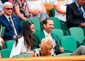 Sergio García, de verde en Wimbledon