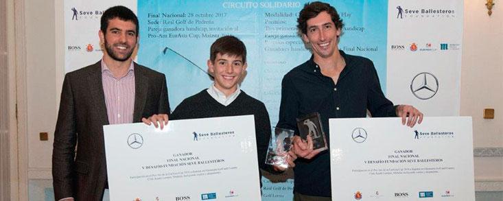 El Desafío Seve Ballesteros celebra la final en el RCG Pedreña