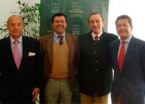 Ángel de la Riva visita el Real Club de Golf de Sevilla