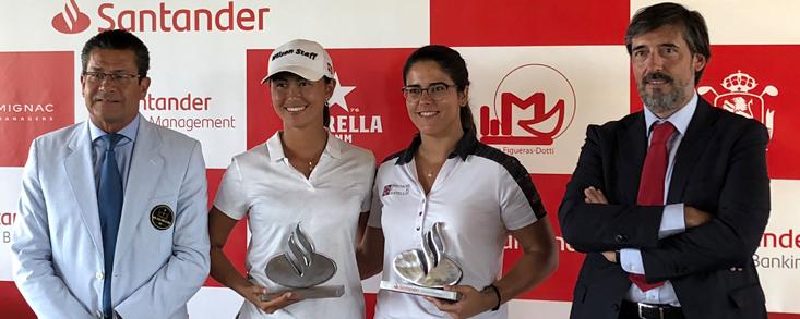 Natalia Escuriola y Natasha Fear, ganadoras en Sevilla