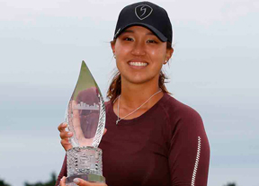 Annie Park se estrena en la LPGA tras firmar 63 golpes, con Recari décima