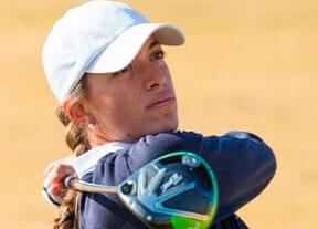 Silvia Bañón retrocede tras una ronda de 78 golpes en Sudáfrica