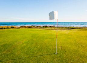 Todo preparado en Terramar para un gran cita del golf femenino europeo
