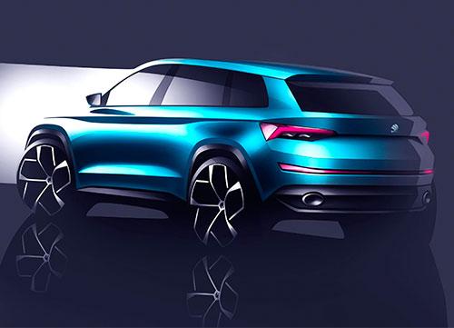 El futuro SUV de la firma Checa, el Skoda VisionS
