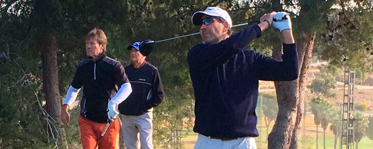 Santi Luna consigue su tercer triunfo en el Senior Tour