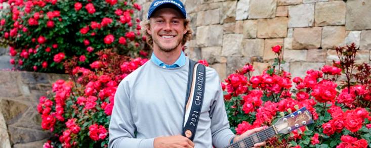 Austin Smotherman se cuelga la guitarra de campeón