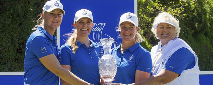 Quince jugadoras clasificadas para la Solheim Cup tras el Women´s Open