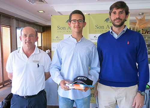 Gerardo March se alza con la victoria en Golf Son Antem