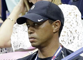 Tiger Woods vió jugar a Nadal en New York