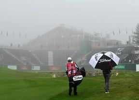 Scott Hend lidera con -11 un torneo envuelto en la niebla suiza