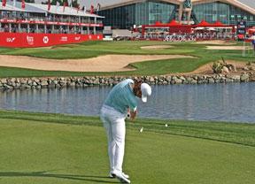 Tomy Fleetwood comienza apretando en el primer torneo del desierto del año