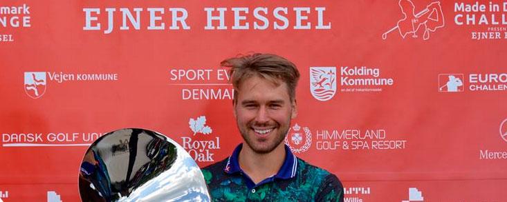 Triunfo para Oscar Stark en Dinamarca