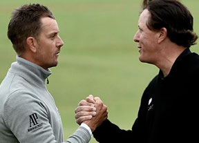 Duelo en Royal Troon entre Henrik Stenson y Phil Mickelson