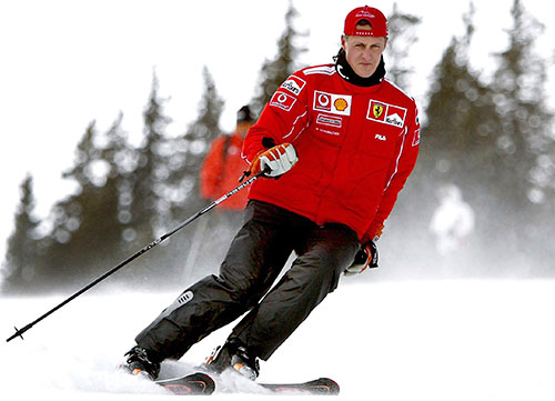 La vida de Schumacher se apaga