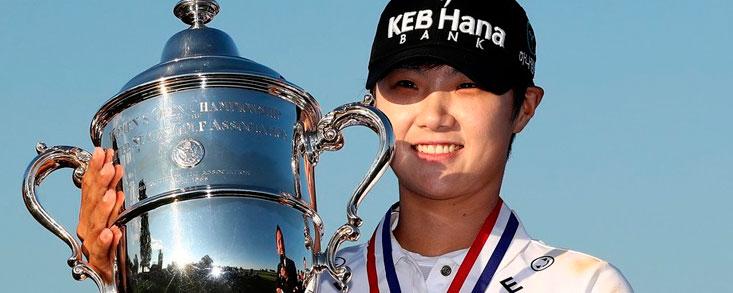 Victoria de Sung Hyun Park con Carlota Ciganda quinta a cinco golpes