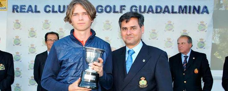 Marcus Svensson, campeón en Guadalmina