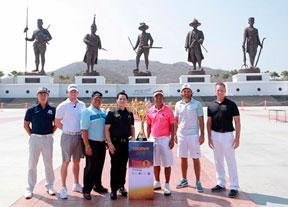 Los reyes de Tailandia, testigos de la nueva cita del Tour Europeo