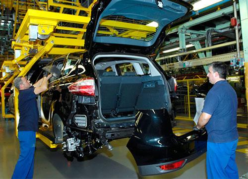 Fuerte crecimiento en la producción y exportación de vehículos en España