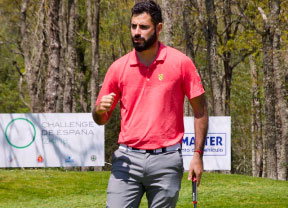 Santiago Tarrío empieza con fuerza en el Dimension Data Pro-Am