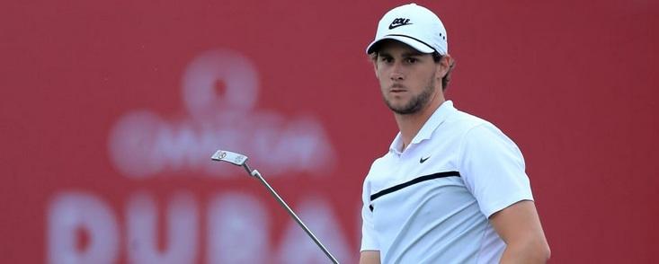 Thomas Pieters líder en Dubai (-5) y Sergio García, el mejor español, a cuatro golpes