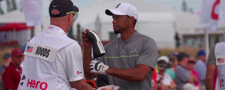 La rutina de entrenamiento de Tiger Woods antes de una ronda