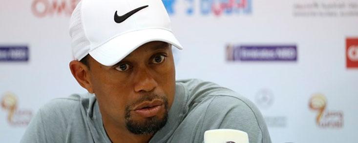 Tiger Woods: 'Si estoy aquí es para ganar el torneo'