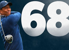 Tiger Woods arranca con un 68 y -2 en su tarjeta