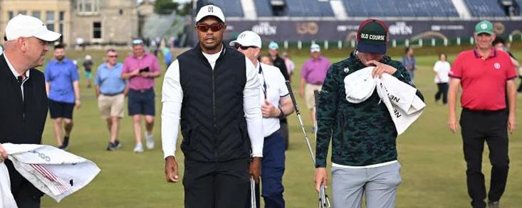 Viendo esto, a Tiger Woods le queda bastante para volver a competir