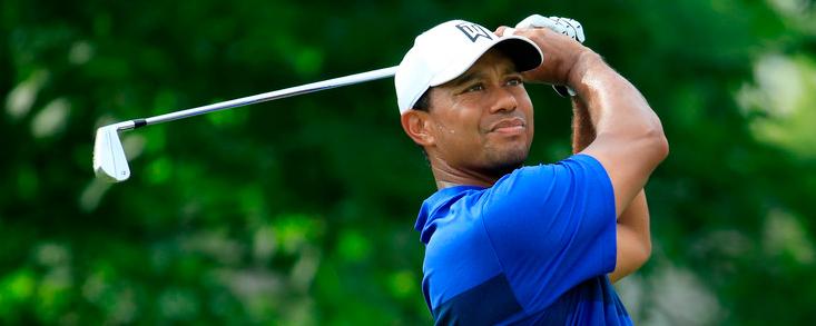 Tiger Woods sigue pensando en ganar tras firmar 67 golpes
