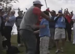 Taylor Crozier, un niño de 11 años, sorprendió al mismísimo Tiger Woods con un