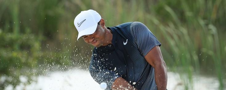 La otra cara de Tiger Woods en su vuelta a la competición