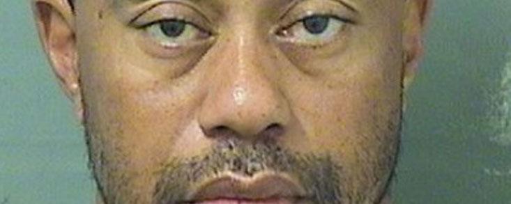 Tiger Woods detenido por la policia en Jupiter (Florida)
