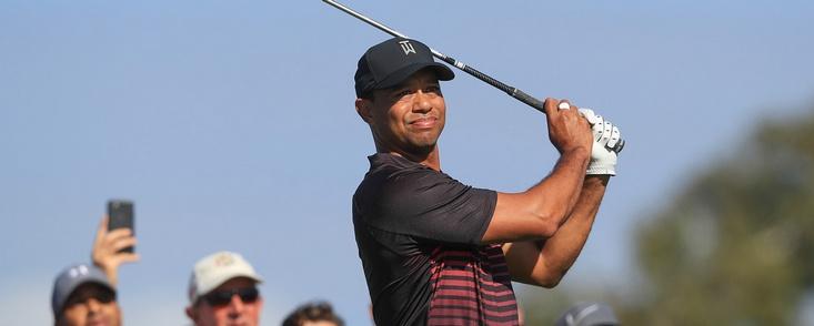 Tiger aprueba en su vuelta a la competición en el PGA Tour