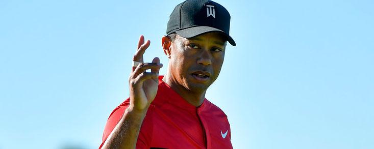Tiger Woods se muestra cómodo en su debut de 2018 y termina con -3