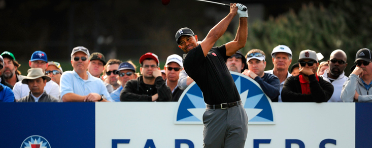 Tiger Woods debutará este año en el Farmes Insurance Open