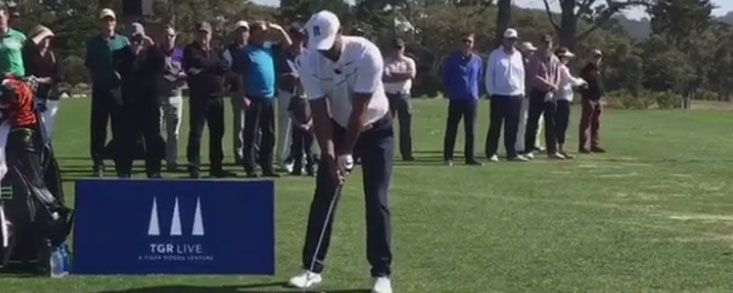 Tiger Woods sigue mejorando poco a poco