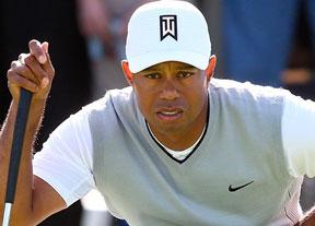 Tiger Woods acapara la atención en Riviera doce años después