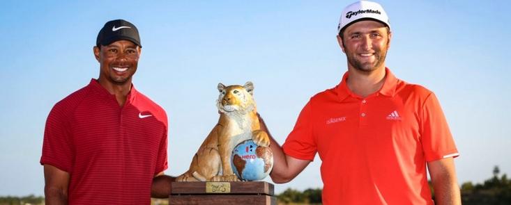 Jon Rahm gana en Bahamas el torneo de Tiger Woods con -20