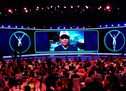 Tiger Woods, mejor regreso en los Premios Laureus