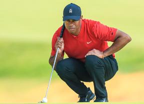 Tiger Woods acusó los meses de inactividada