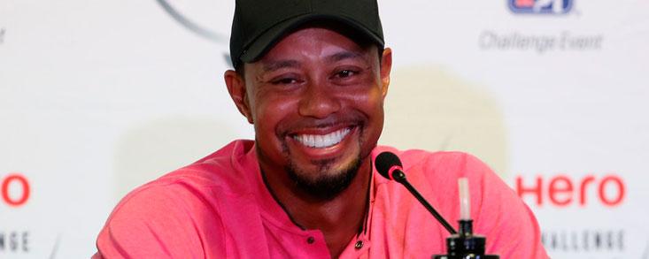 Tiger Woods: 'Estoy aquí para hacer lo de siempre: intentar ganar'