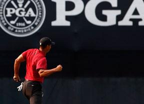 Tiger Woods hace vibrar de nuevo al mundo del golf