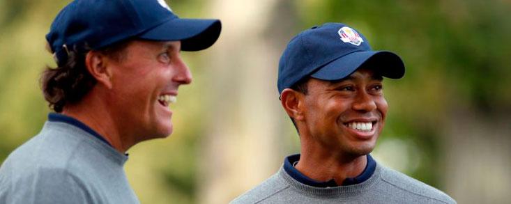 Tiger Woods: 'No hemos ganado la Ryder en Europa desde hace 25 años'