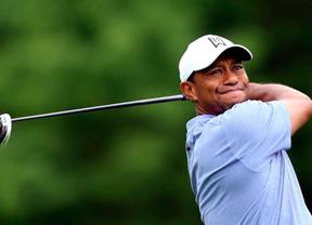 El partido de Tiger Woods, uno de los más lentos del torneo