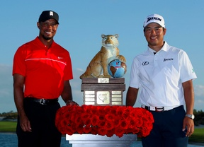 Cuarta victoria de Hideki Matsuyama y buenas sensaciones para Tiger Woods a pesar de terminar penúltimo