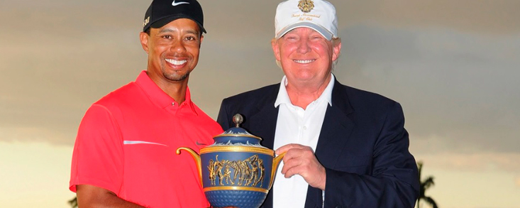 Tiger Woods recibirá de Trump la medalla presidencial de la Libertad