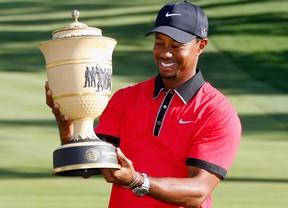 Tiger Woods jugará el Bridgestone Invitational tras su ascenso al 50º en el WR