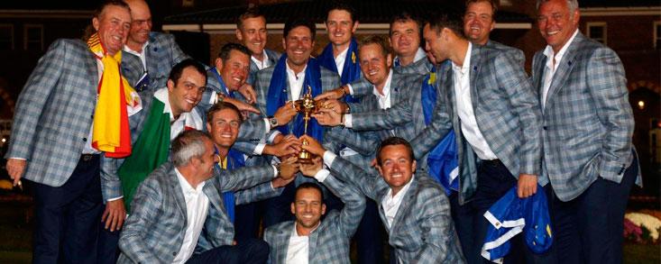 Así han sido todas las participaciones de García en la Ryder Cup
