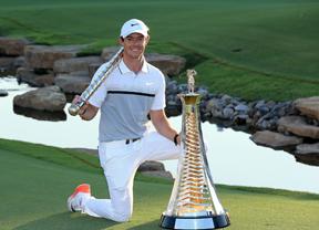 Rory McIlroy arregla un mal año con su victoria en la Race to Dubai